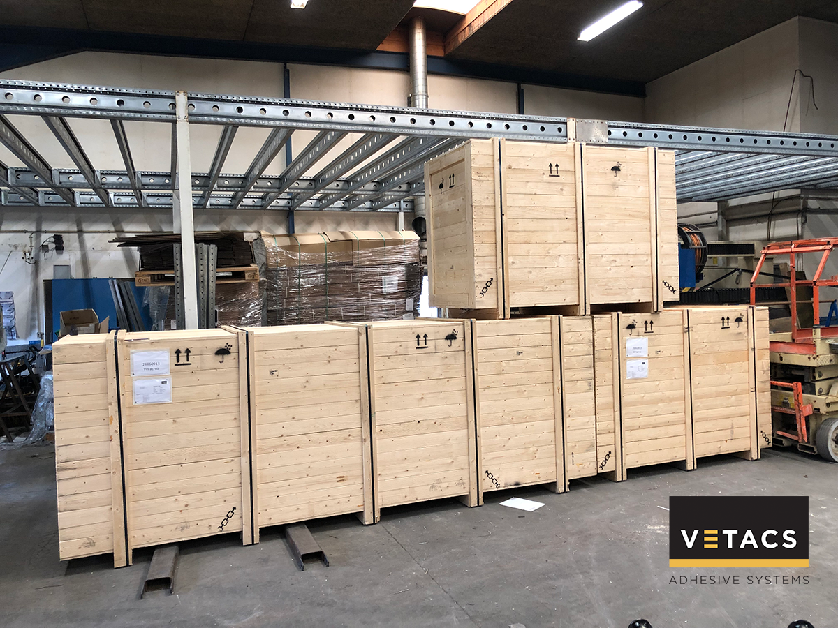 Three new Vetacs Application Systems ready for shipping to Mexico and Australia