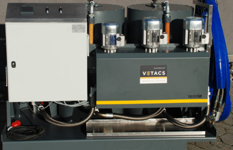Vetacs Adhesive Application Systems - Gluing Systems - Glue Machine - Application Machine - Adjustable Adhesive Mixing Ratio - PUR Adhesive System - Metering System - 18. Industrial Adhesive Pumping System