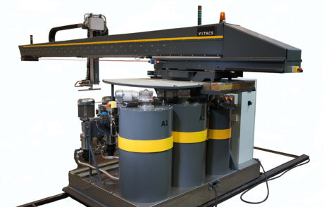 Vetacs Adhesive Application Systems - Gluing Systems - Glue Machine - Application Machine - Adjustable Adhesive Mixing Ratio